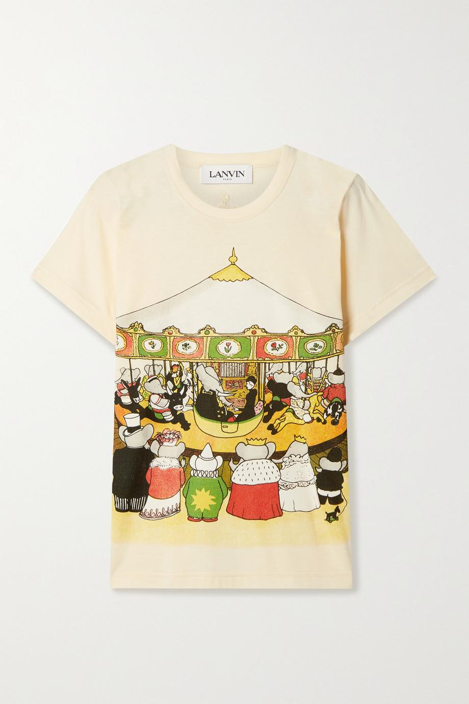 Lanvin x Babar 印花纯棉平纹布 T 恤
