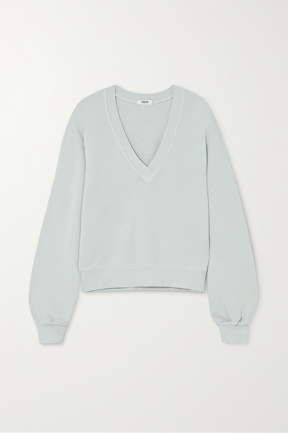 AGOLDE Cotton-jersey sweatshirt