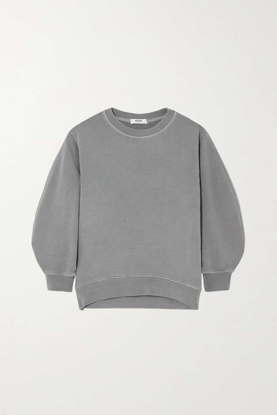 AGOLDE Thora cotton-jersey sweatshirt