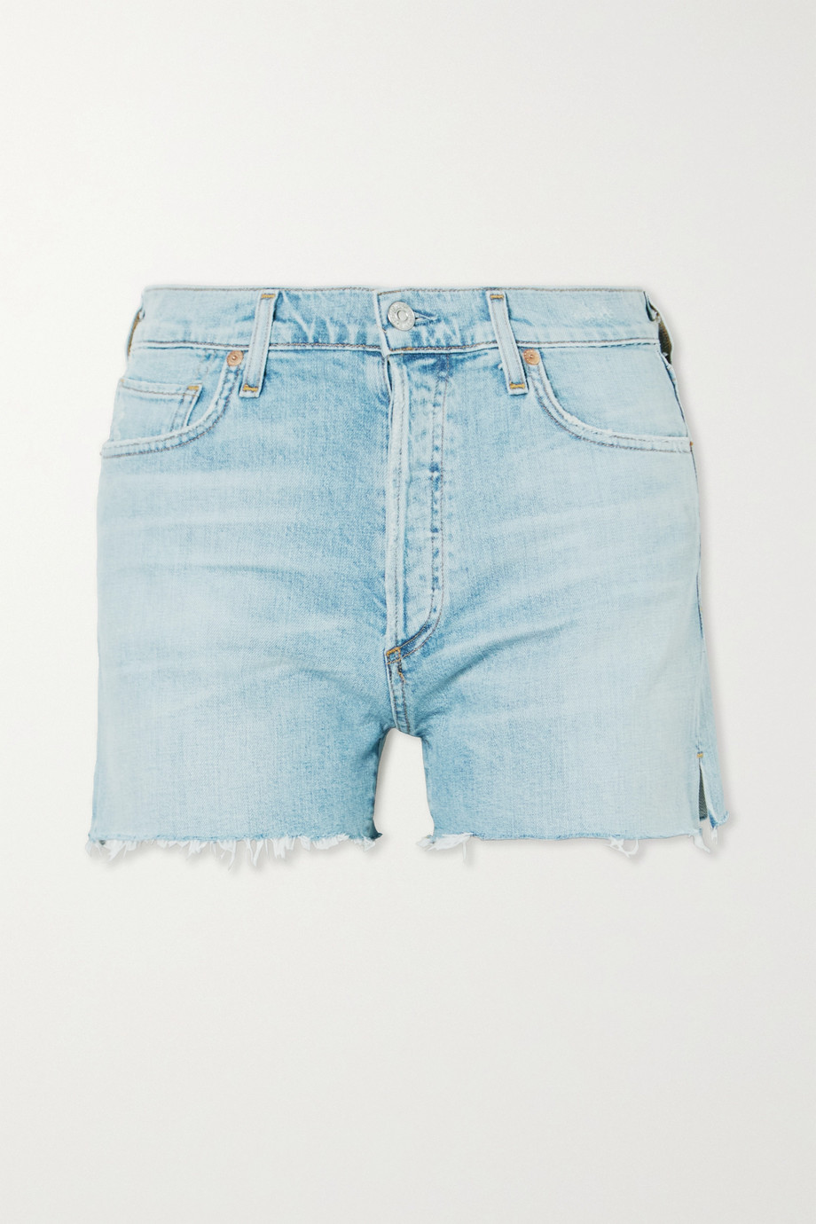 Citizens of Humanity Marlow distressed organic denim shorts