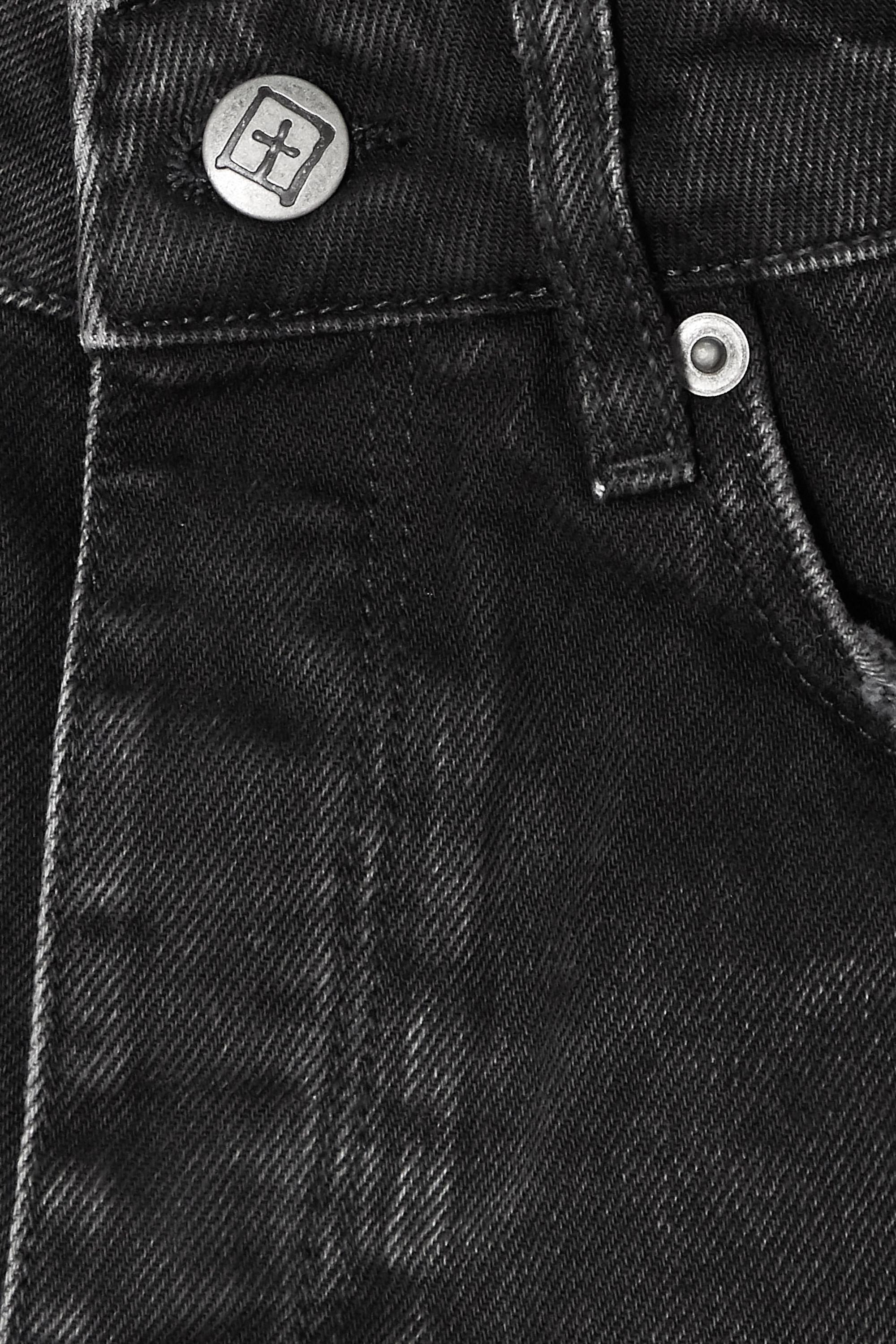 Ksubi Rolling Out Jeansshorts in Distressed-Optik