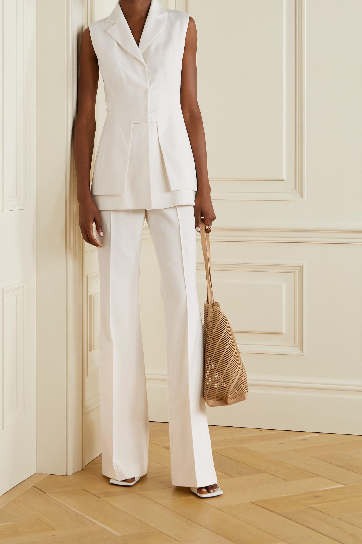 Akris Layered cotton-blend vest