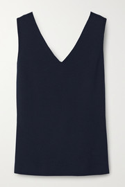Akris Stretch-mulberry silk tank
