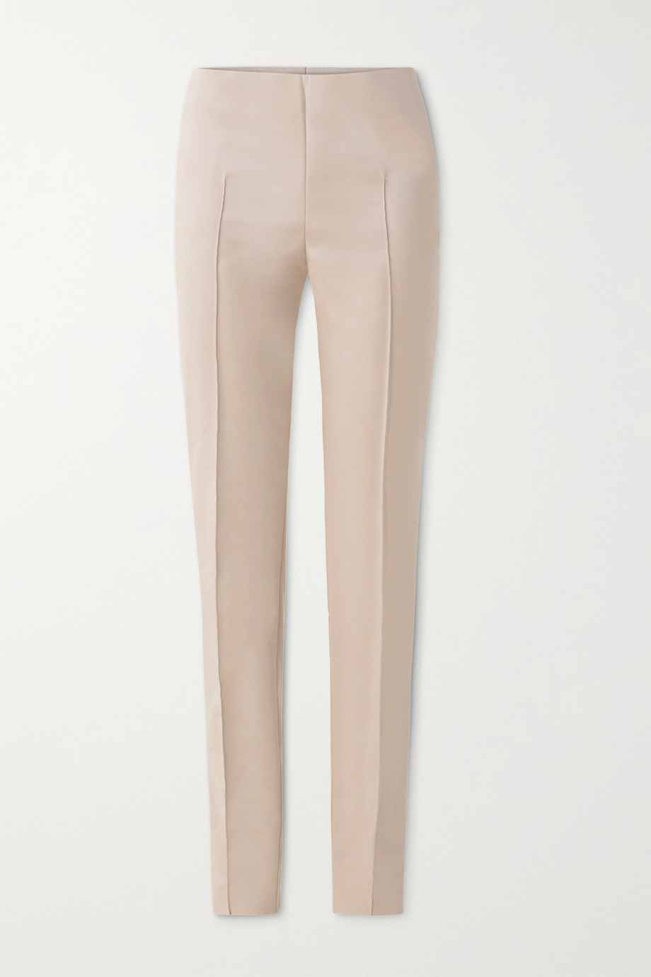 Akris Melissa cotton-blend slim-leg pants