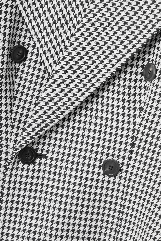 Balenciaga Hourglass doppelreihiger Blazer aus einer Wollmischung mit Hahnentrittmuster