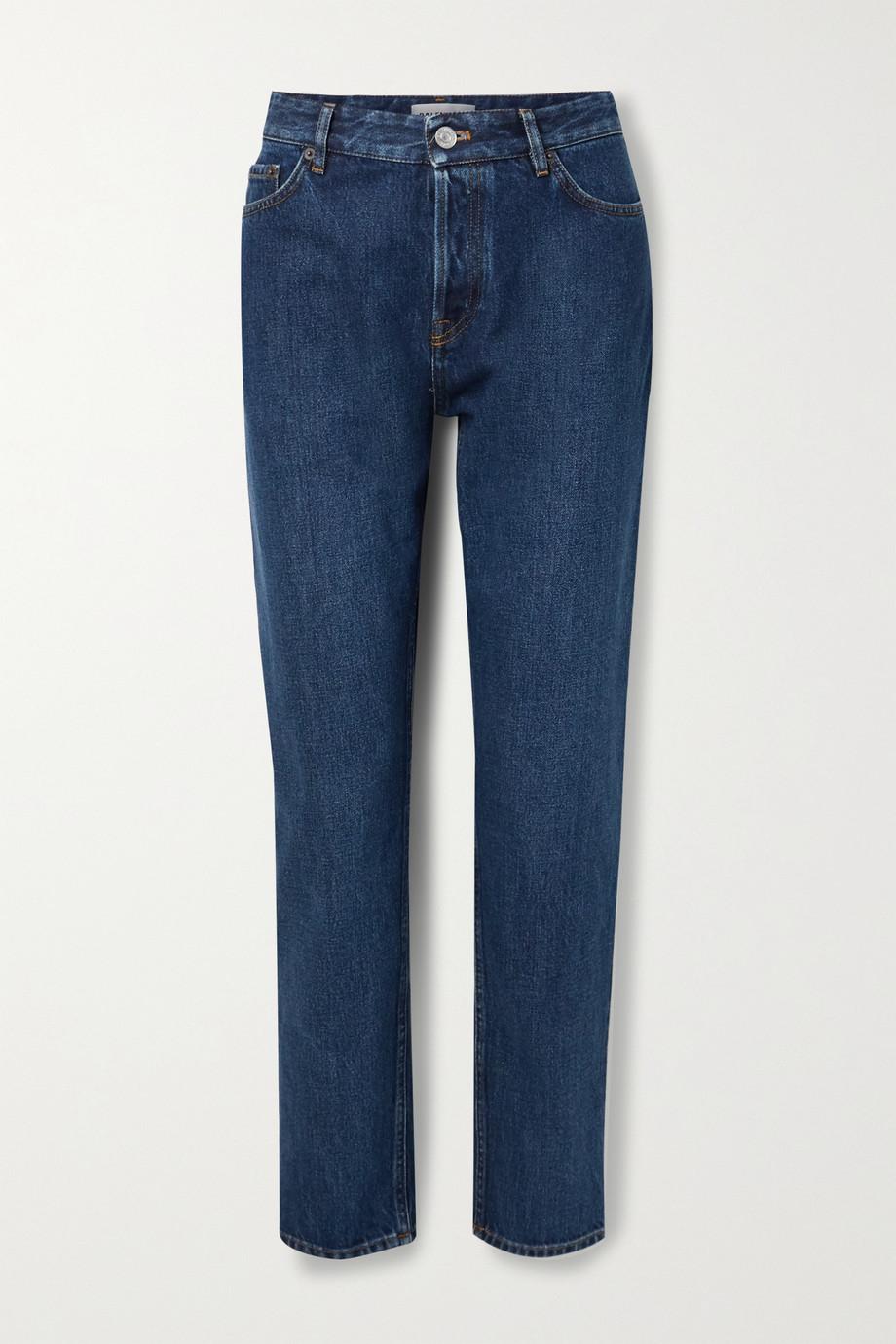 Balenciaga High-rise straight-leg jeans