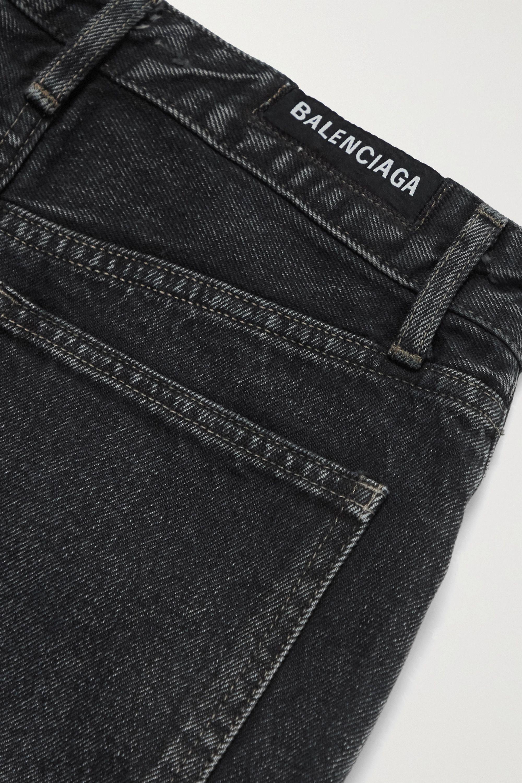 Balenciaga High-rise wide-leg jeans