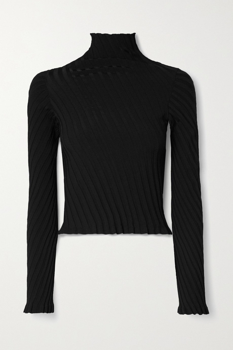 Balenciaga Ribbed-knit turtleneck sweater