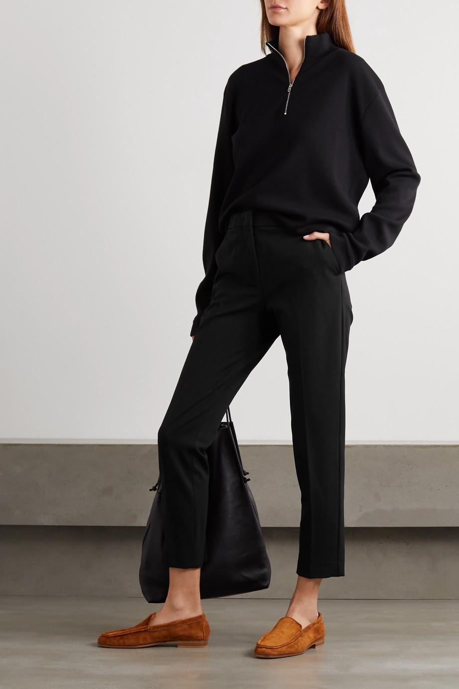 Max Mara Pegno cady straight-leg pants