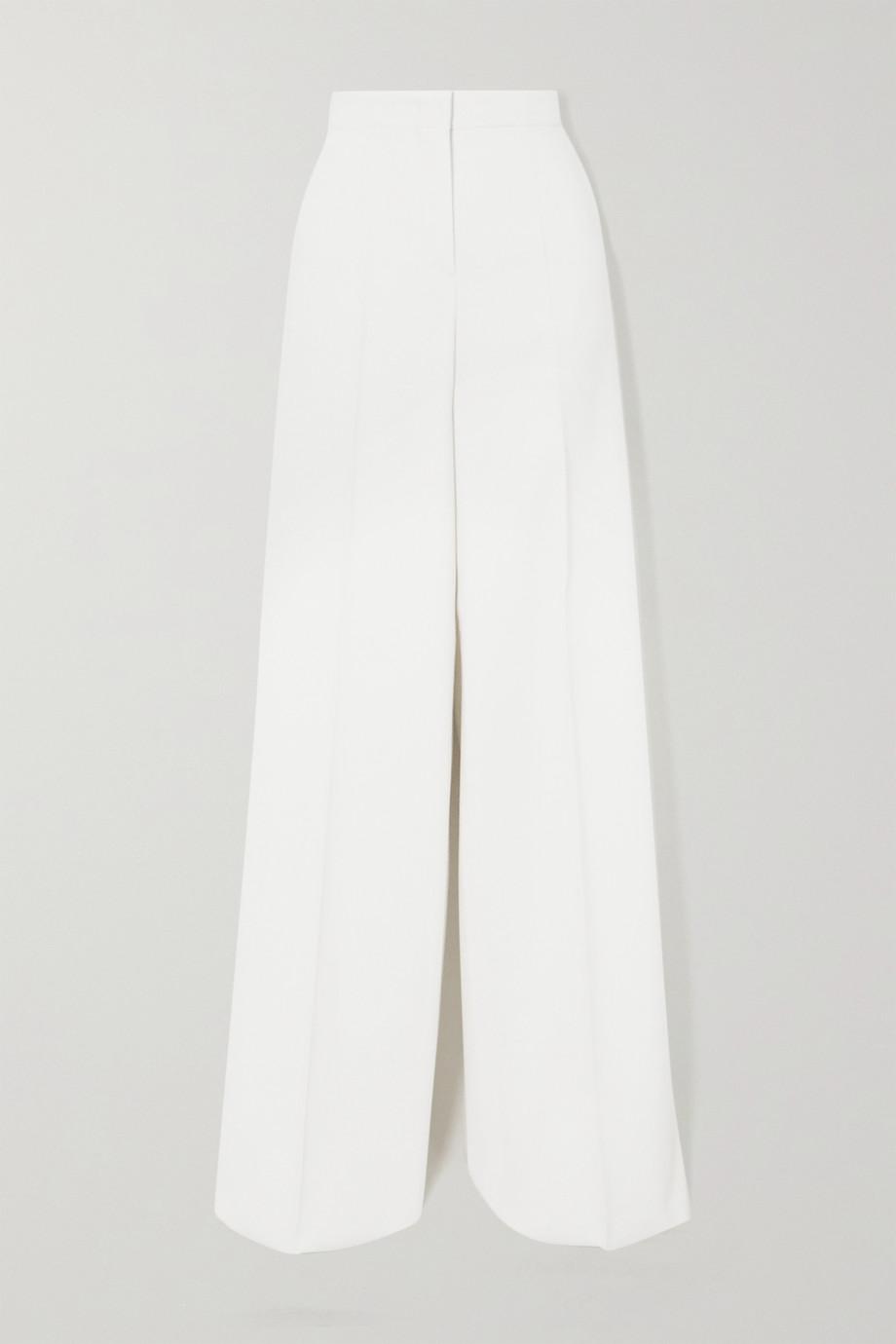 Max Mara Stretch-wool wide-leg pants