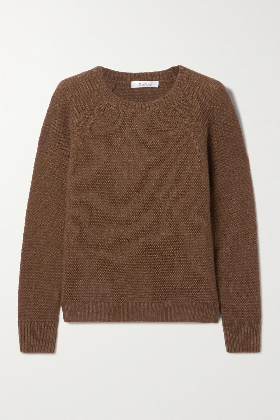 Max Mara Satrapo cashmere and silk-blend sweater