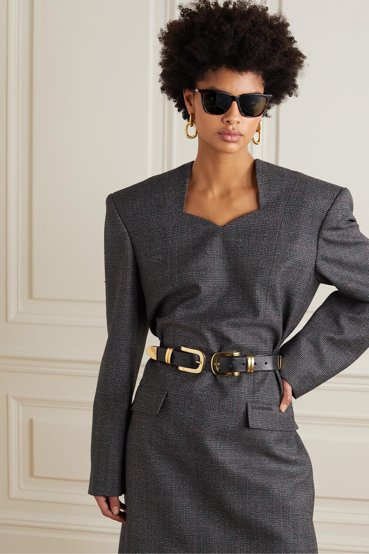Givenchy Lunettes de soleil carrées en acétate effet écaille