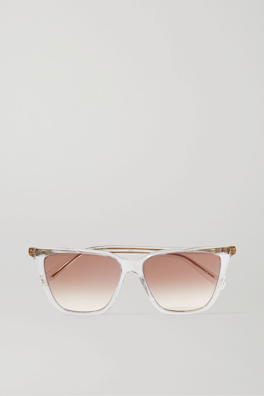 Givenchy Square-frame acetate and gold-tone sunglasses