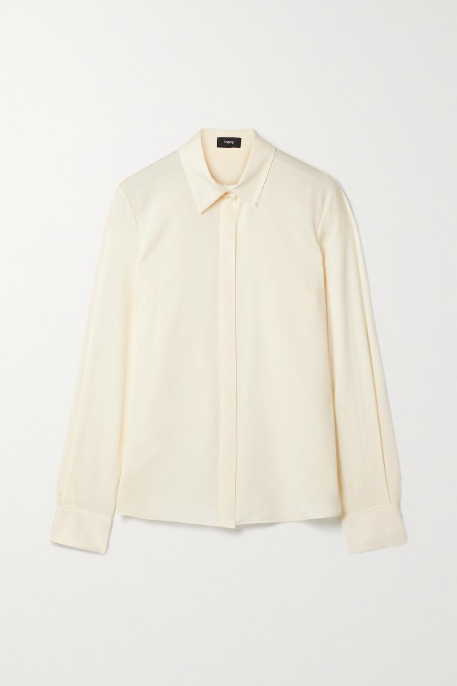 Theory Silk-blend shirt