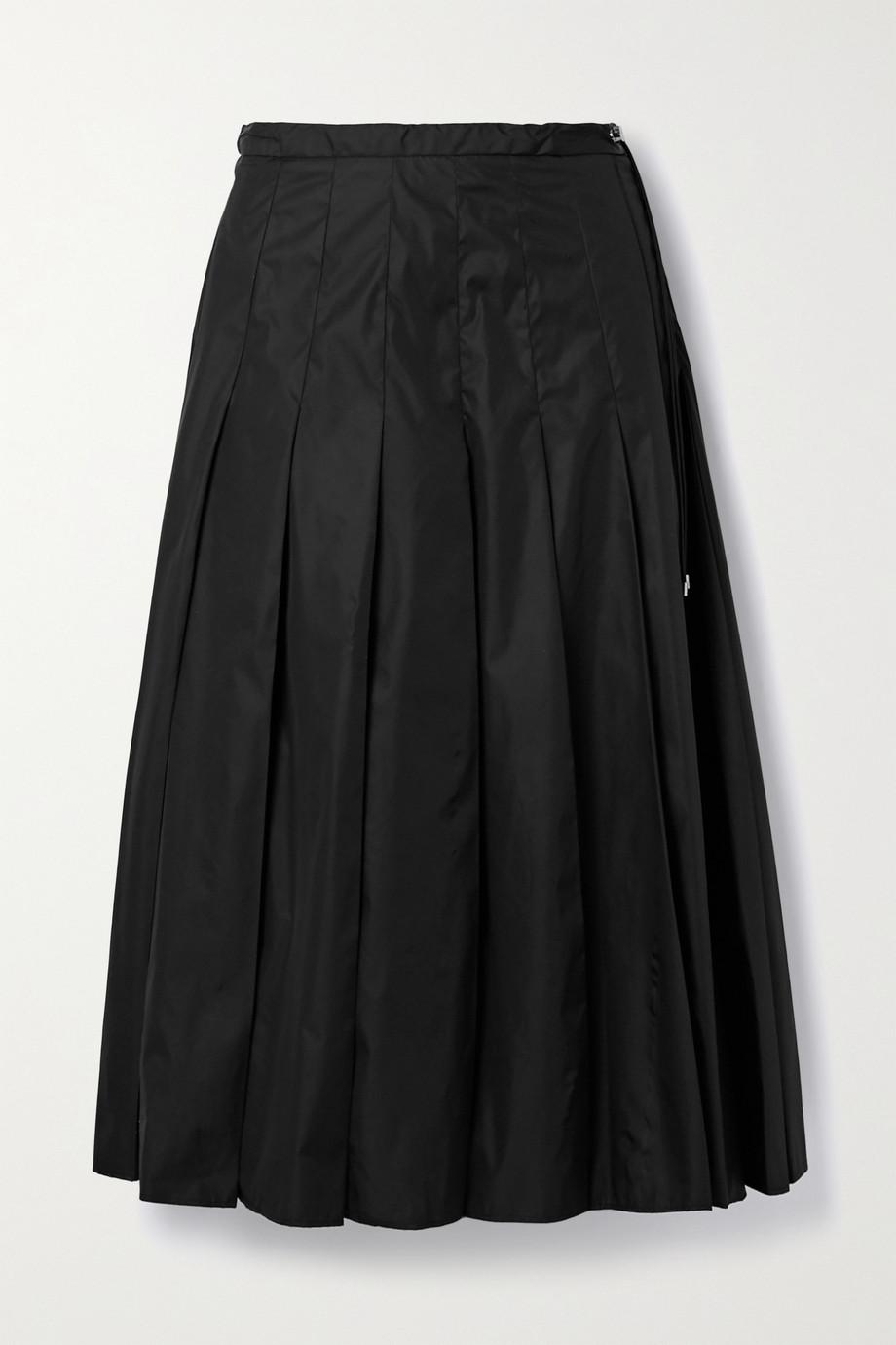 Moncler Pleated shell midi skirt