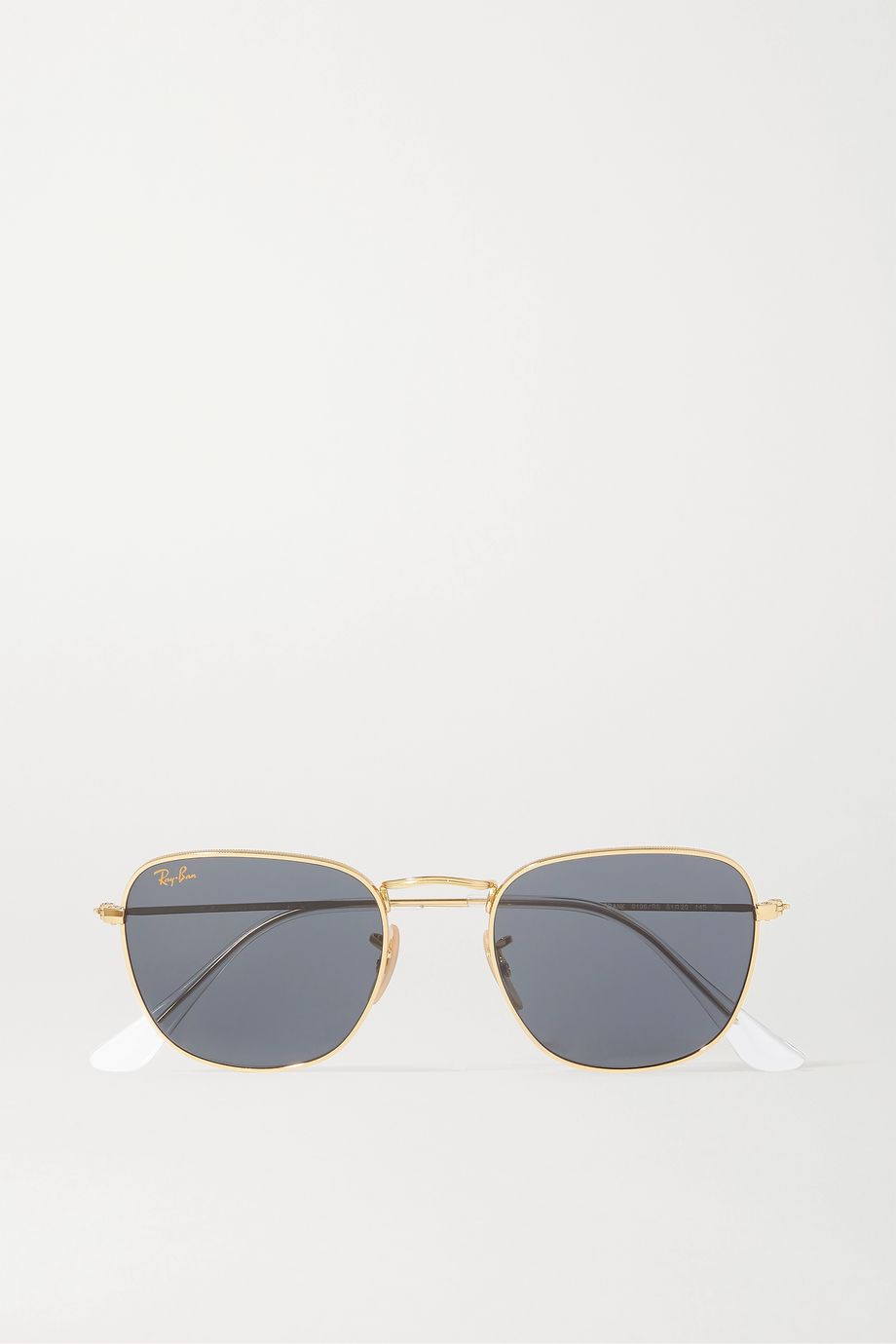 Ray-Ban Frank Legend square-frame gold-tone sunglasses