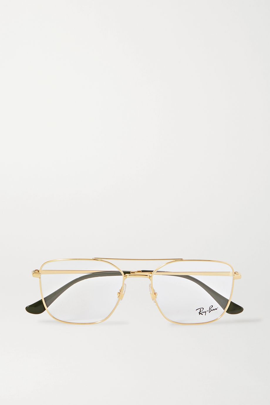 Ray-Ban Aviator gold-tone optical glasses