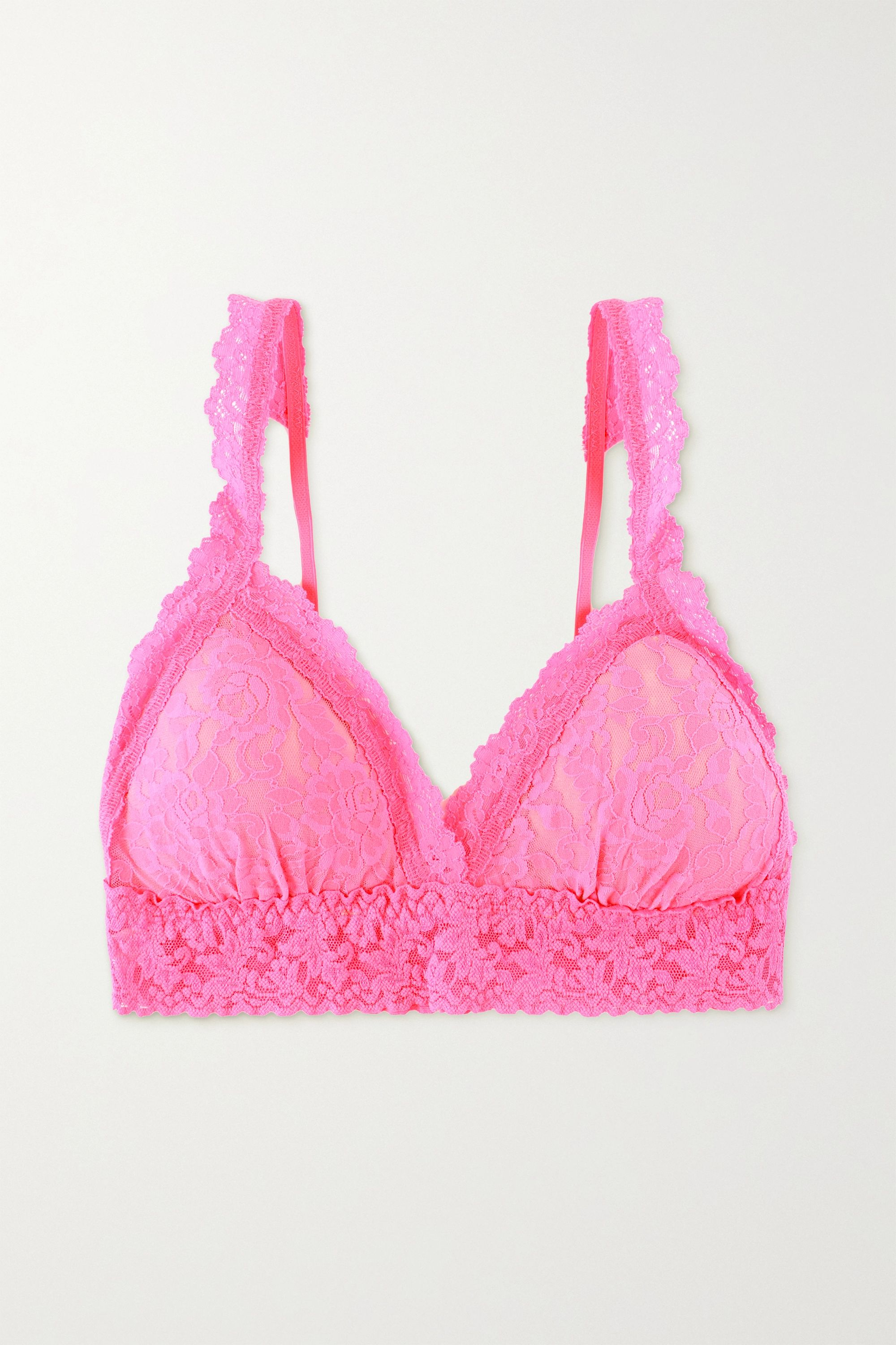 Hanky Panky Signature stretch-lace soft-cup triangle bralette