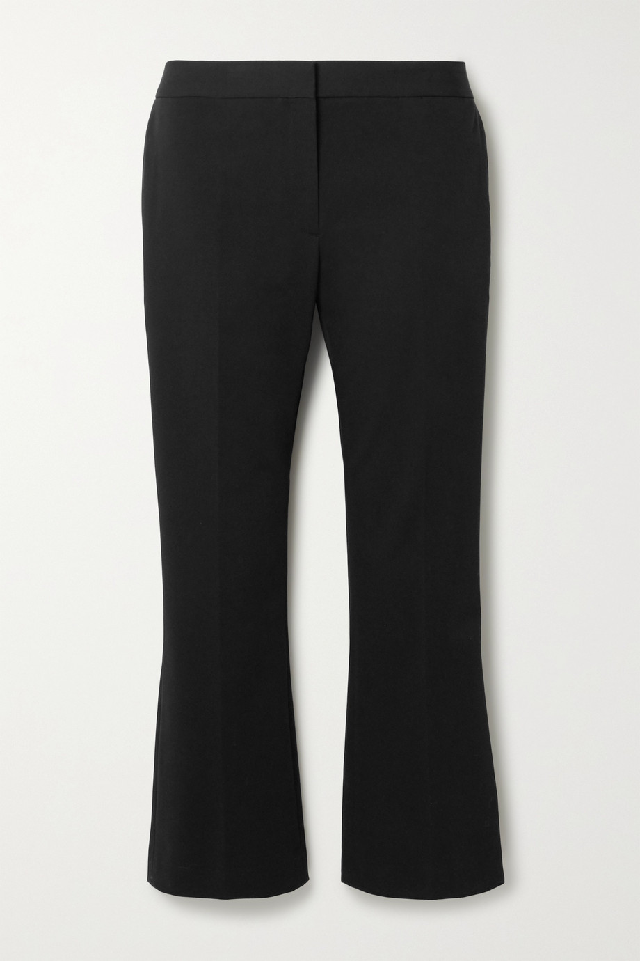 Theory Cropped cotton-blend twill tapered pants