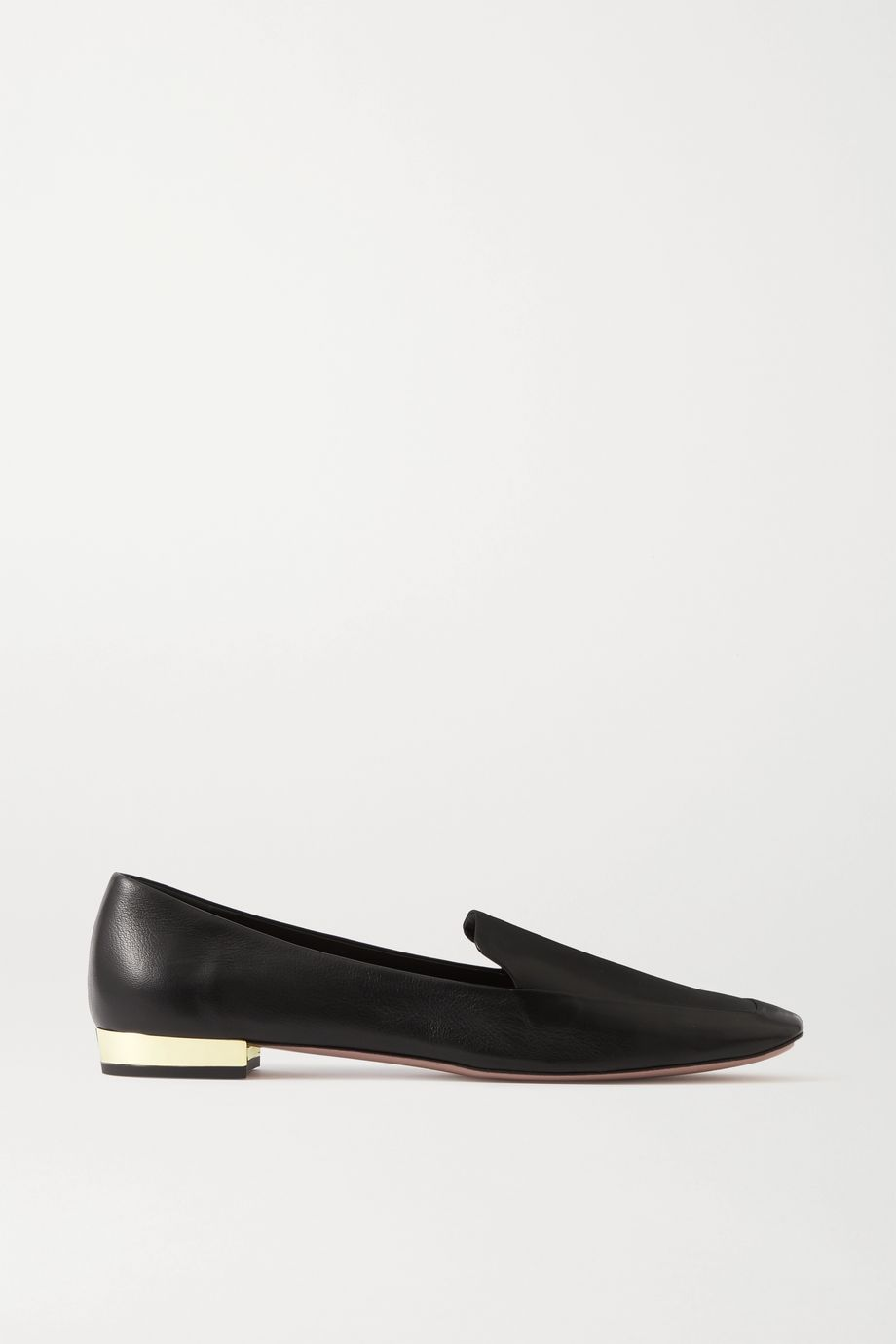 Aquazzura Greenwich 10 leather loafers