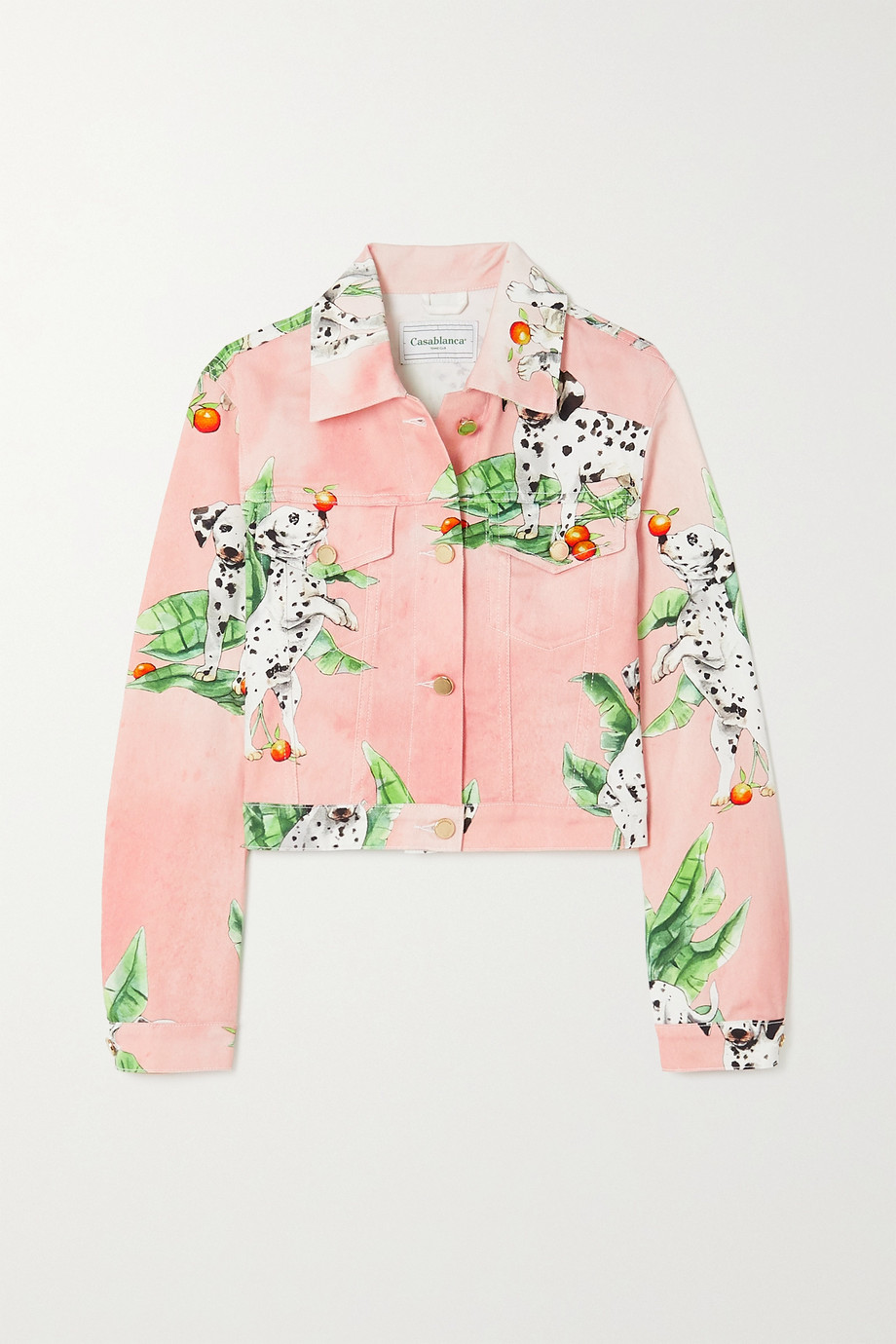 Casablanca Printed denim jacket