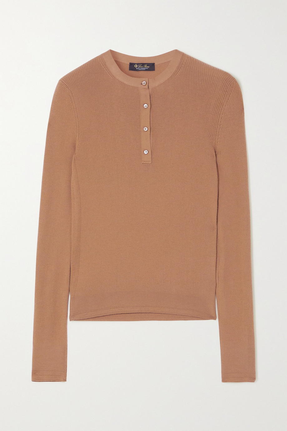Loro Piana Ribbed cashmere top