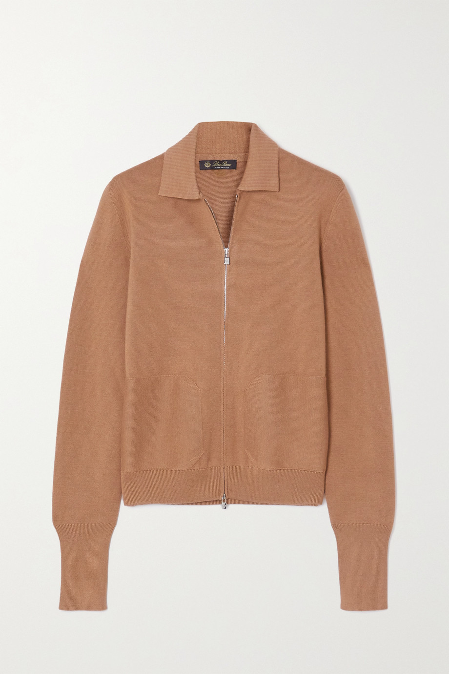 Loro Piana Cashmere and silk-blend jacket