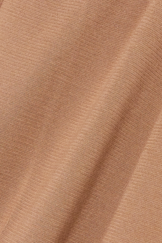 Loro Piana Cashmere and silk-blend wide-leg pants