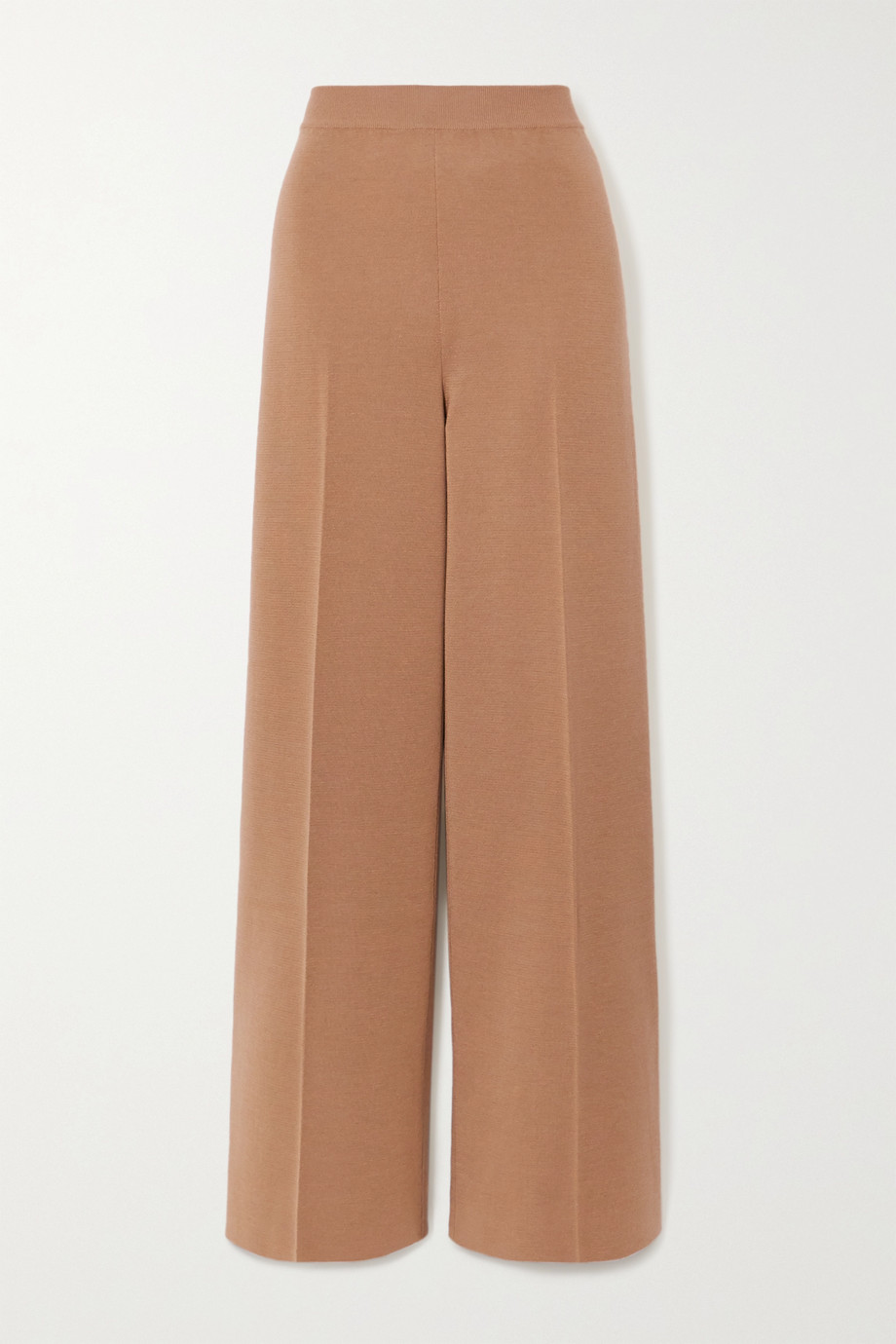 Loro Piana Cashmere and silk-blend wide-leg pants