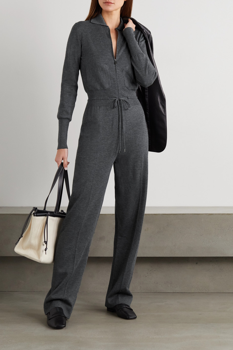 Loro Piana Cashmere and silk-blend jumpsuit