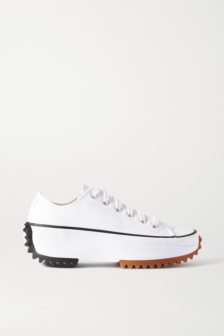 Converse Run Star Hike canvas platform sneakers