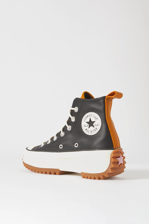 Converse Run Star Hike leather platform high-top sneakers