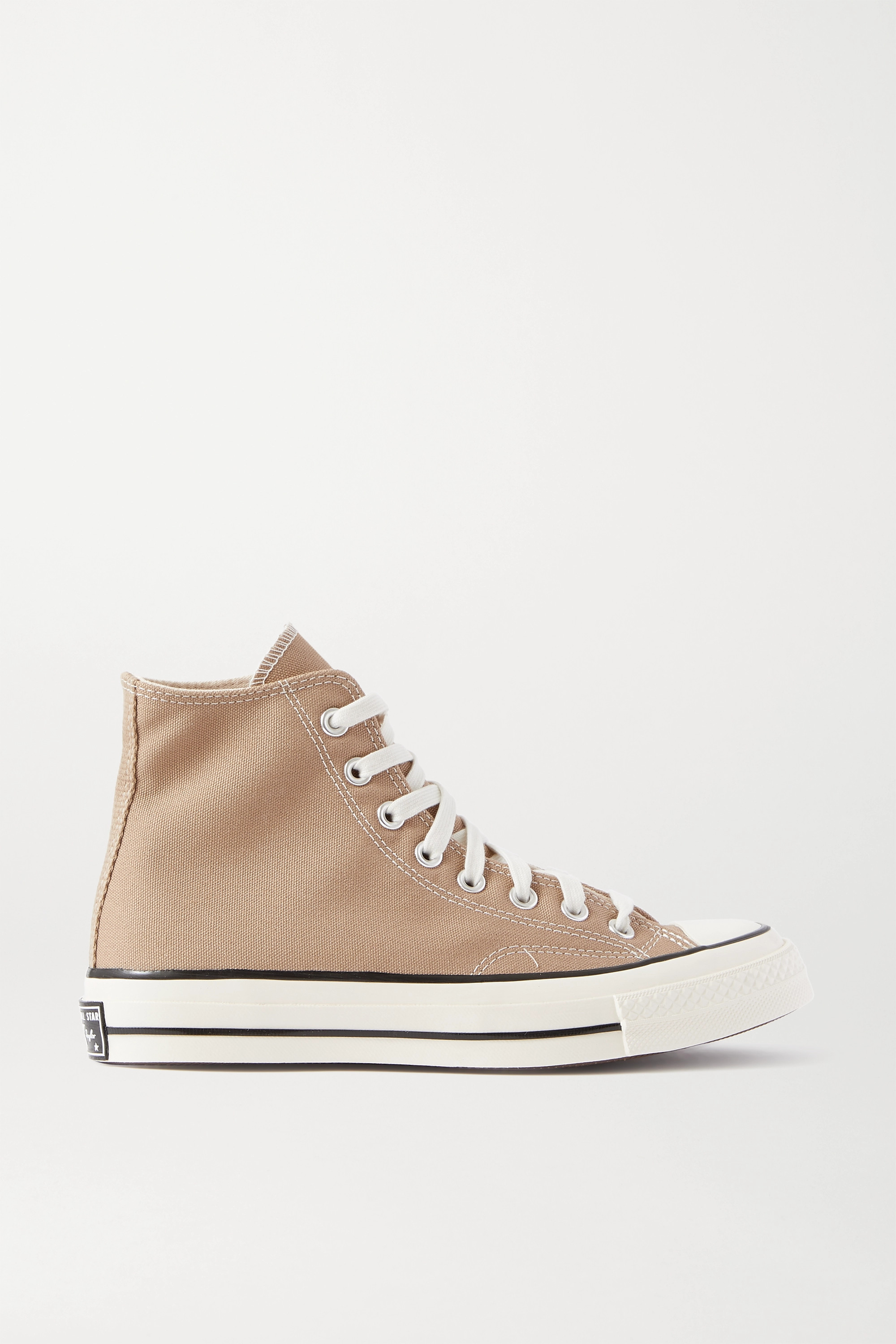 Beige Chuck Taylor All Star 70 Canvas High-top Sneakers | Converse