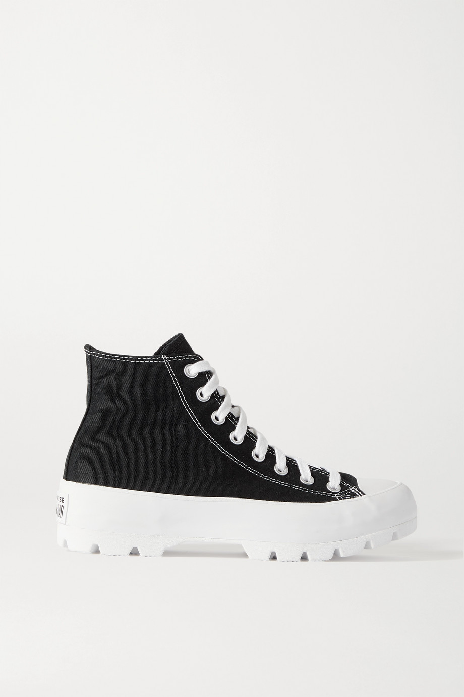Converse Chuck Taylor All Star canvas high-top platform sneakers
