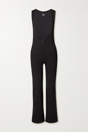 Moncler Grenoble Tuta shell-trimmed stretch-twill ski suit