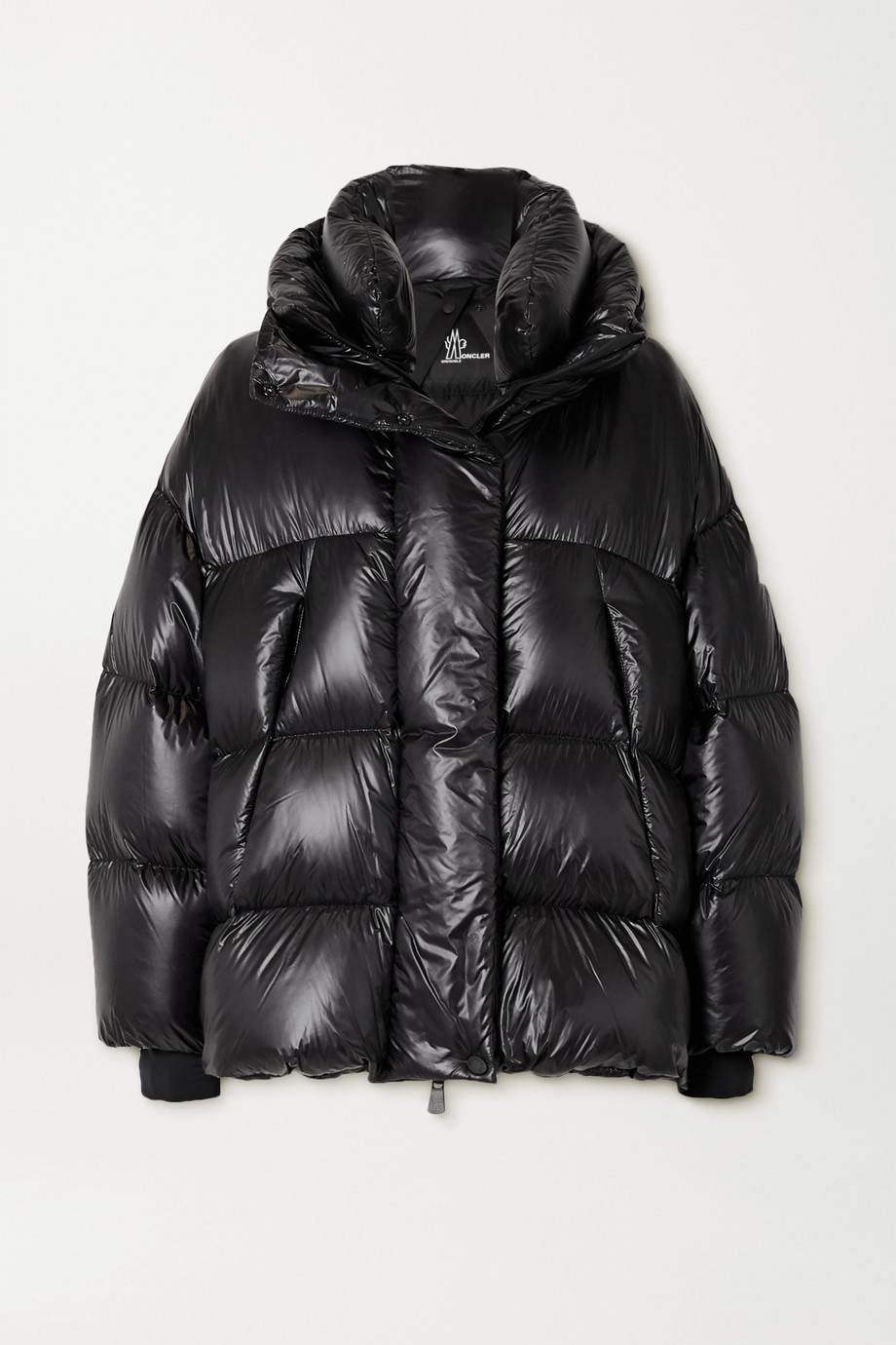 Moncler Grenoble Arpuilles quilted glossed-shell down jacket