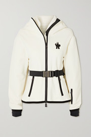 Moncler Grenoble Maglia hooded woven ski top