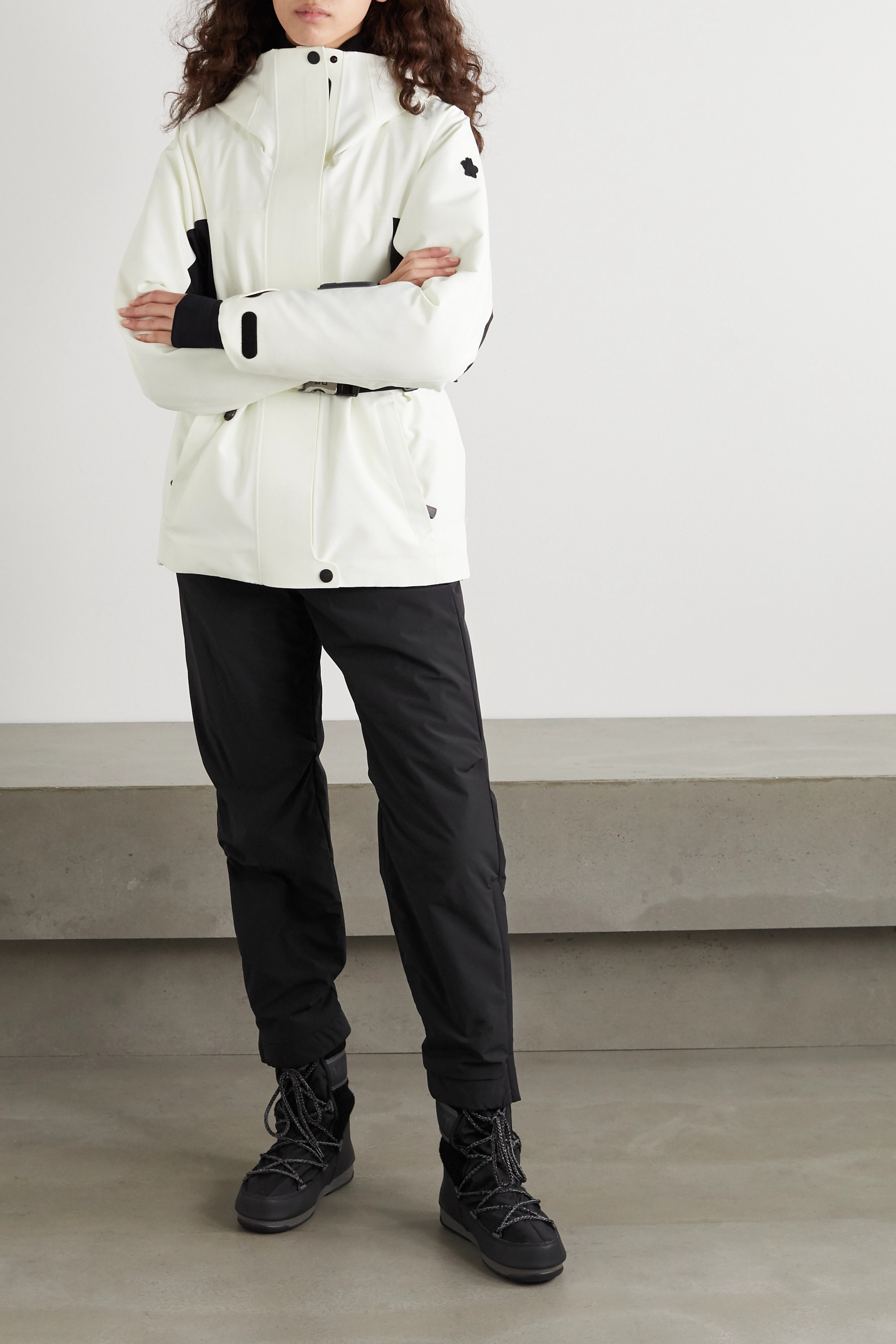 Moncler Grenoble Sportivo padded shell tapered ski pants