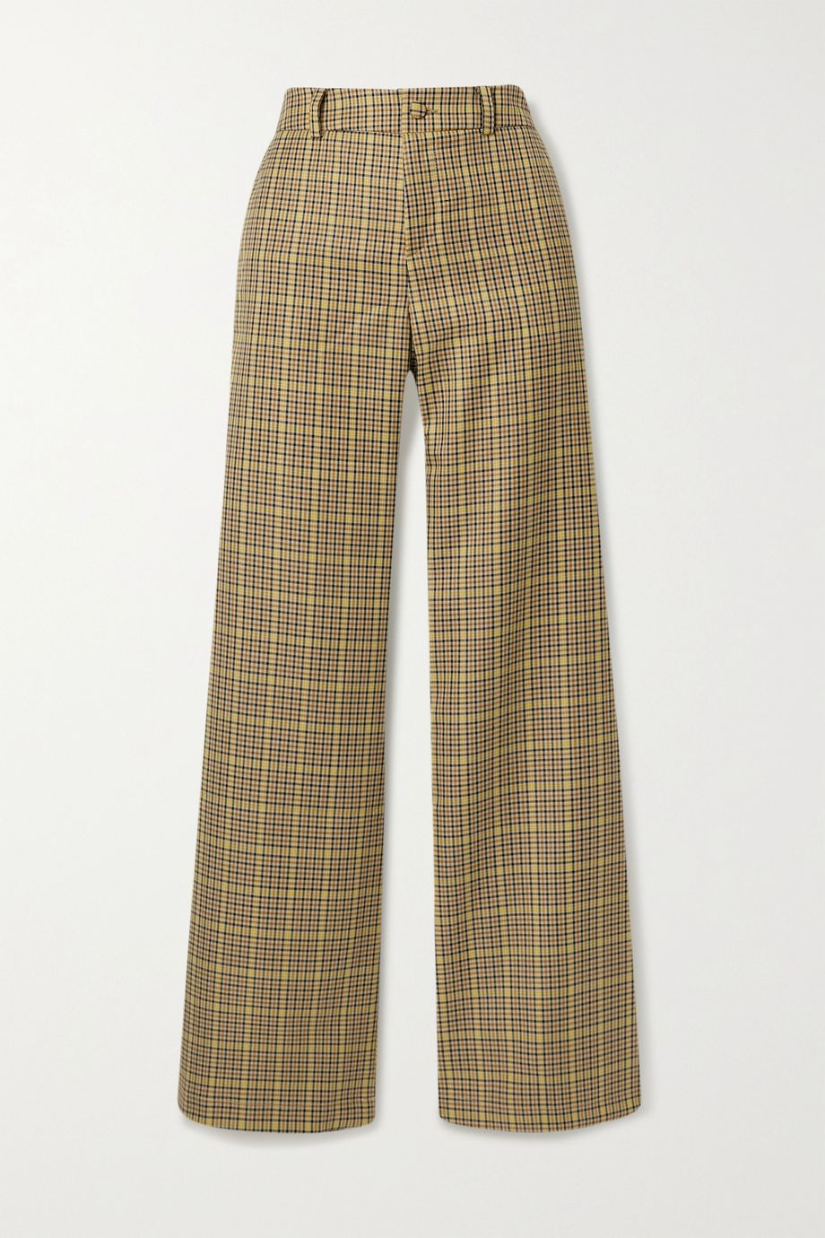 AVAVAV Checked woven straight-leg pants