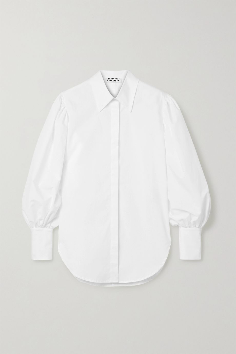 AVAVAV Oversized cotton-poplin shirt