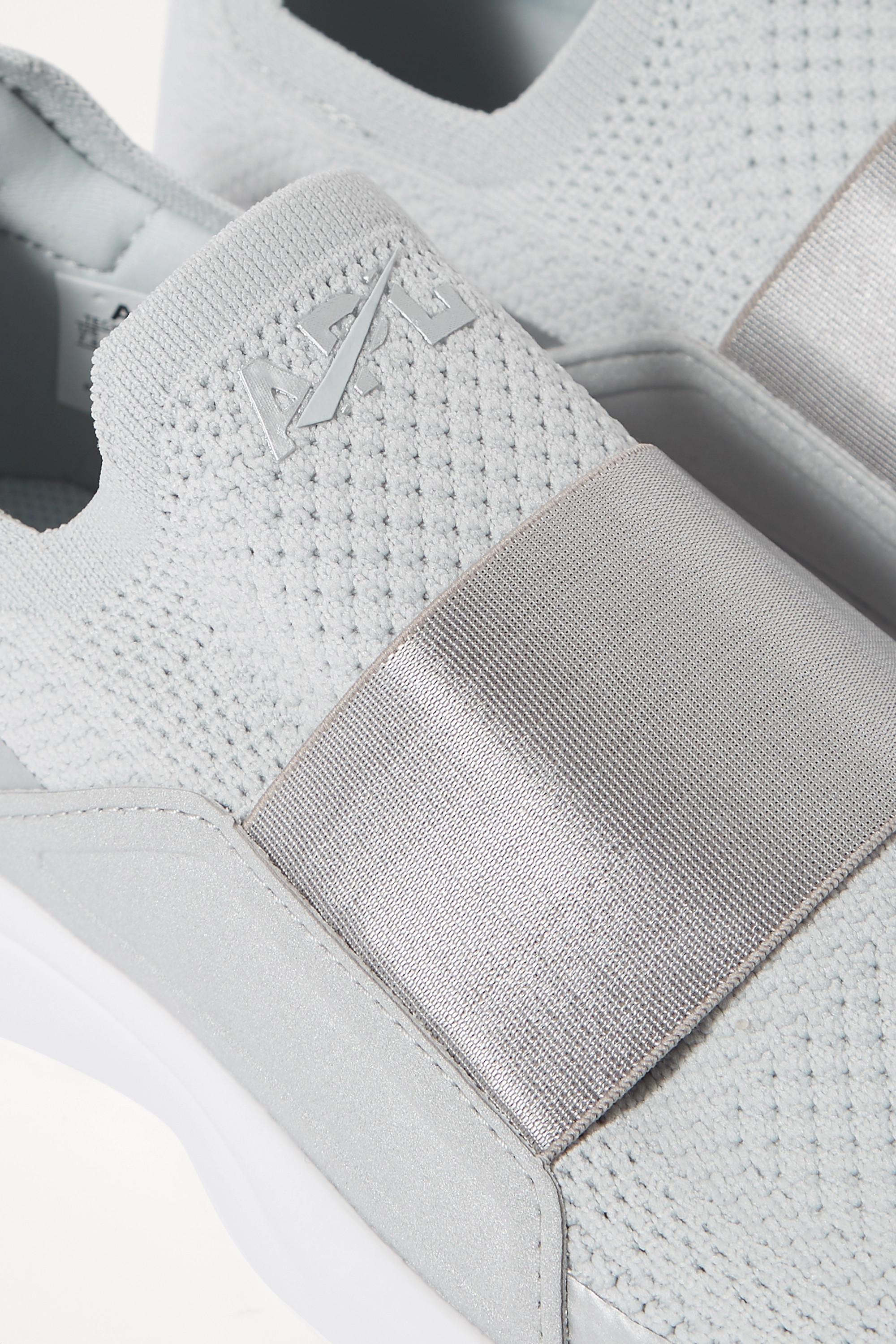 APL Athletic Propulsion Labs TechLoom Bliss mesh and neoprene slip-on sneakers