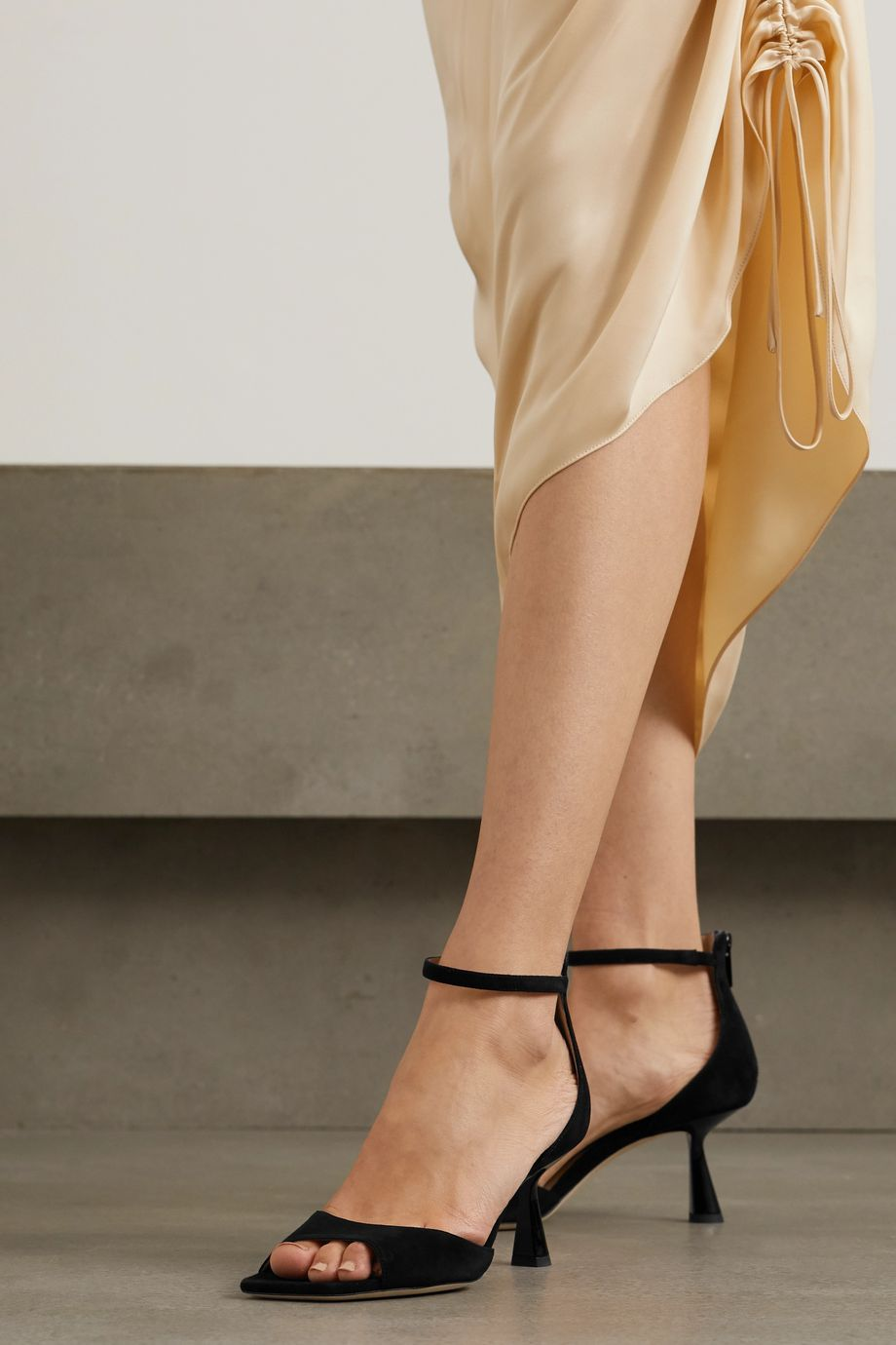 Jimmy Choo Reon 65 suede sandals