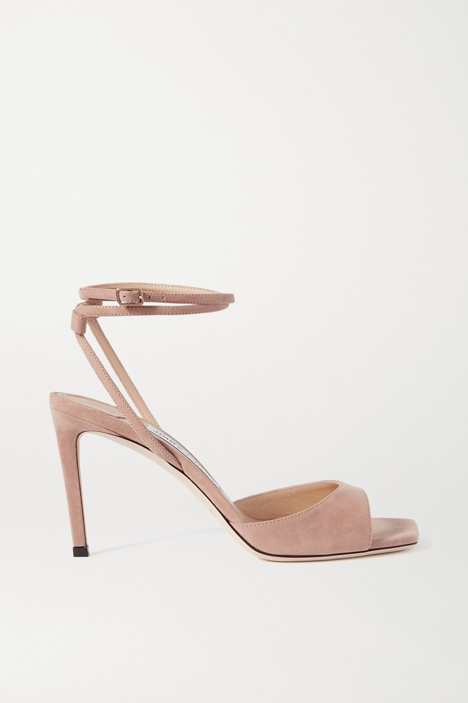Jimmy Choo Mori 85 suede sandals