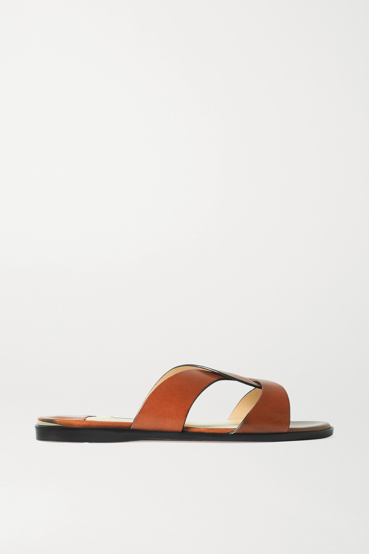 Jimmy Choo Atia leather slides