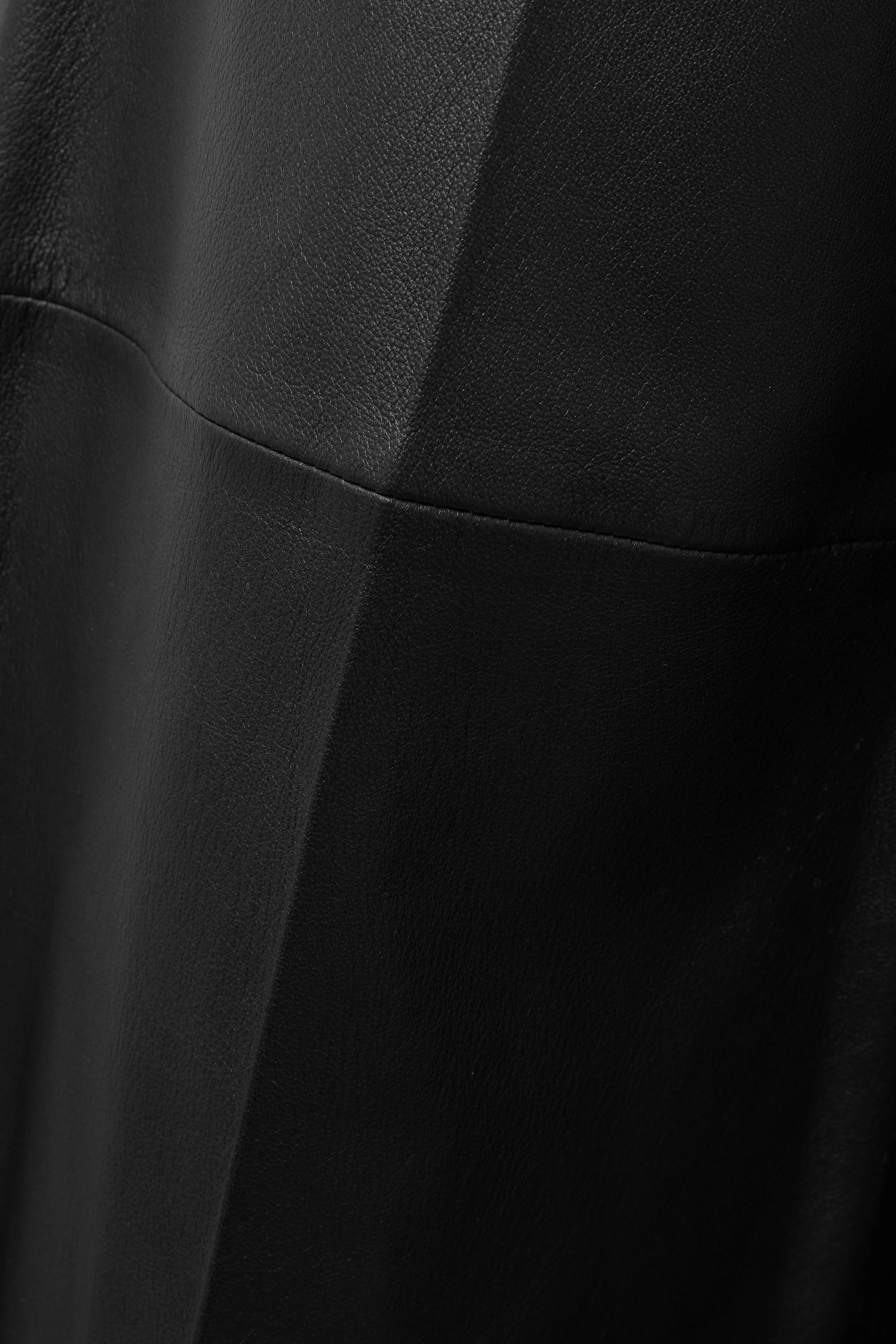 Joseph Pantalon large raccourci en cuir Tuba