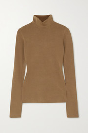 Joseph Silk-blend turtleneck sweater
