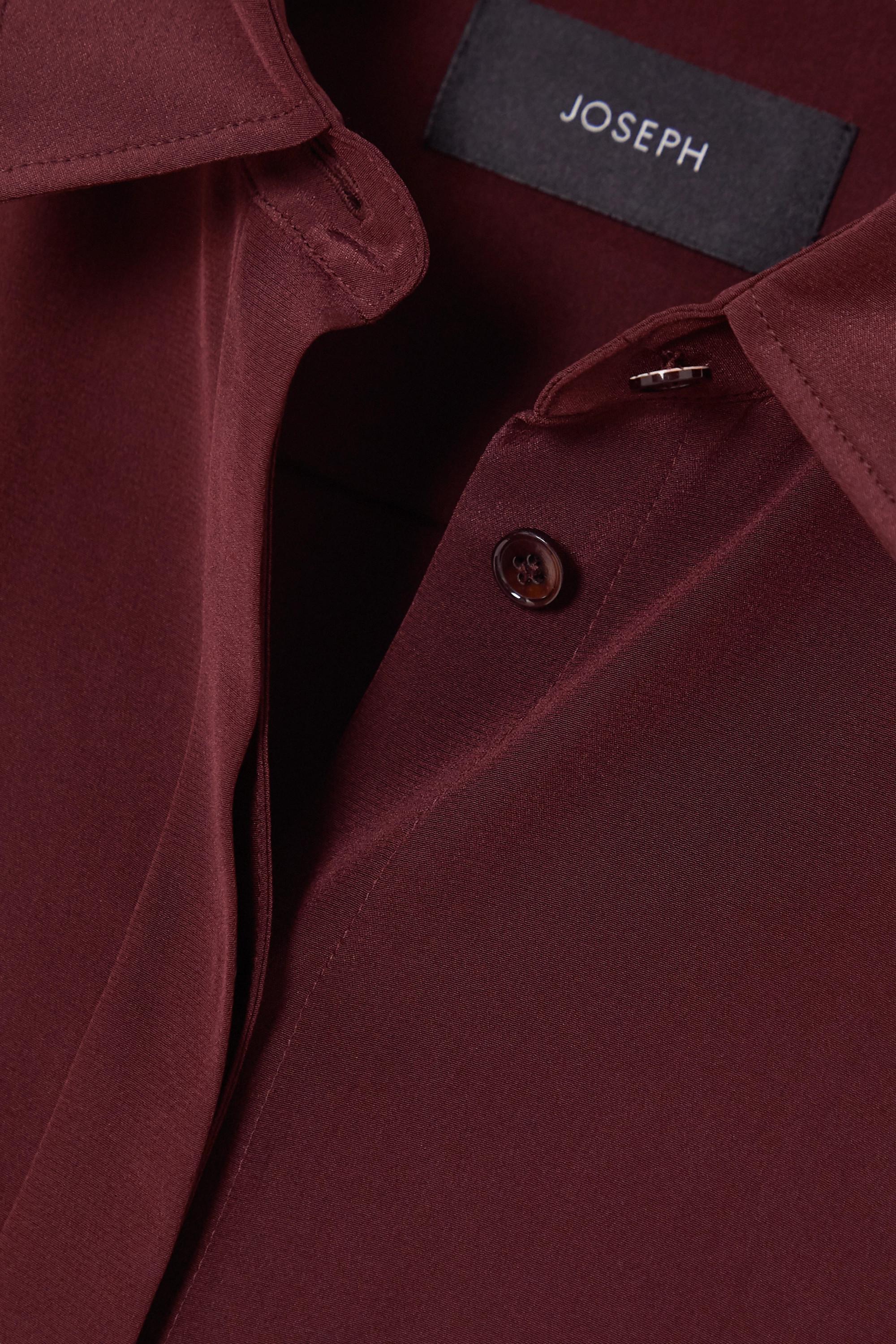 Joseph Bold silk crepe de chine shirt