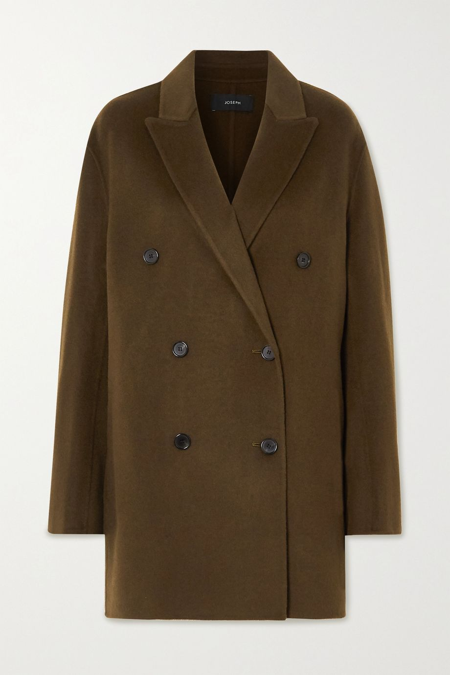 Joseph Clavel double-breasted wool and cashmere-blend coat