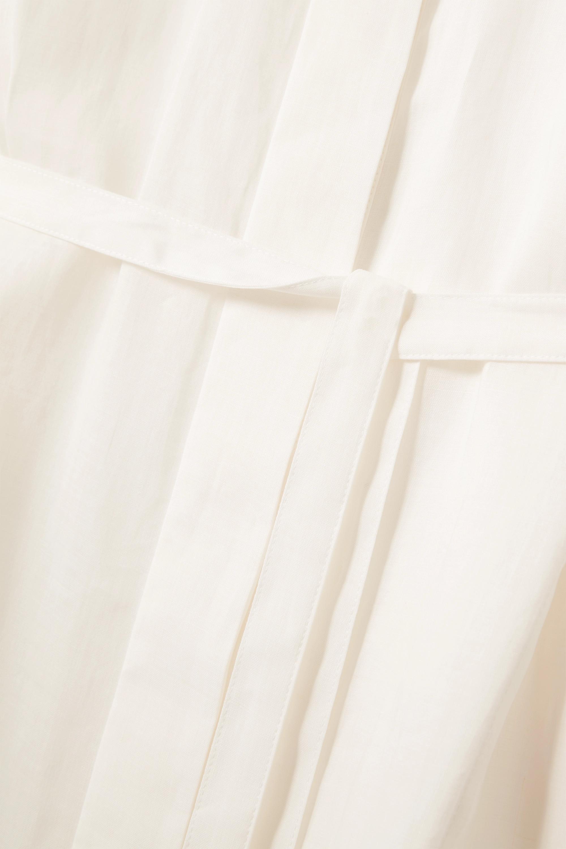 Joseph Daga ramie midi shirt dress