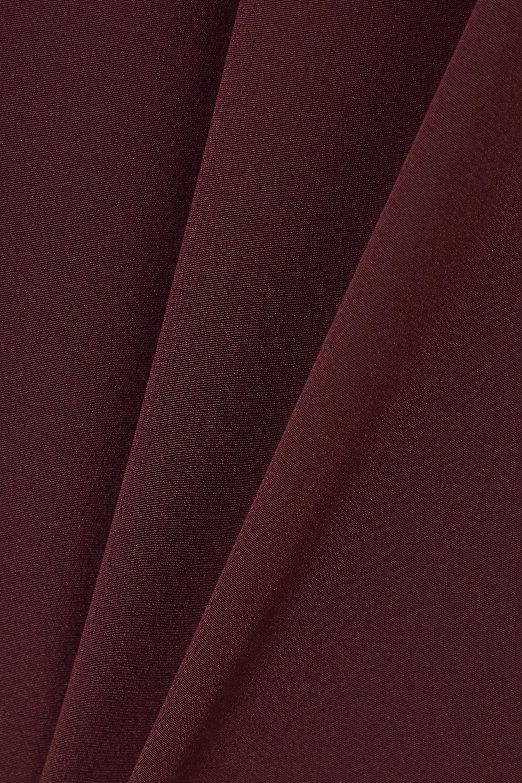 Joseph Bina tie-detailed silk crepe de chine top